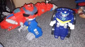 LARGE CHUNKY PRESCHOOL TRANSFORMERS