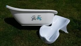 Baby Bath, Bath Support Seat, Top and Tail Bowl