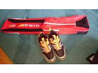 Grays Hockey Shoes, size 7 and hockey bag