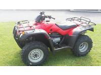 Honda quad 350 four track 2wd