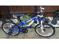 Boys carrera blast jr mountain bike