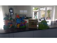 Selection of baby toys and potty Great value