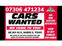 ‼️ WANTED ALL CAR VAN 4x4 ANY CONDITION CASH TODAY SELL MY SCRAP FAST