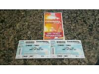 2 Creamfields tickets