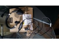 3 Hands free usb headsets 3 in total all NEW