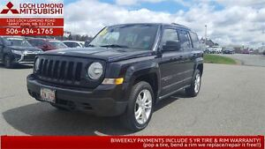 2011 Jeep Patriot North 4WD - only $107 biweekly!