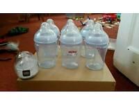 6 Nuby Bottles