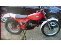 1982 156cc Trials bike