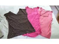 Women's tops from Banana Republic, Warehouse, Mango, Zara etc.