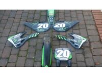 Kx 250 plastics 1998-2002