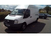 Ford transit lwb 115,high roof van