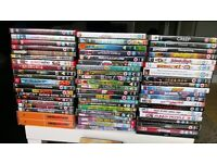 Over 200 dvds in good condition.