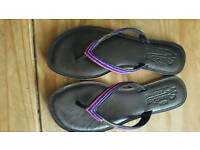 SUPERDRY LEATHER FLIPFLOPS SIZE 6
