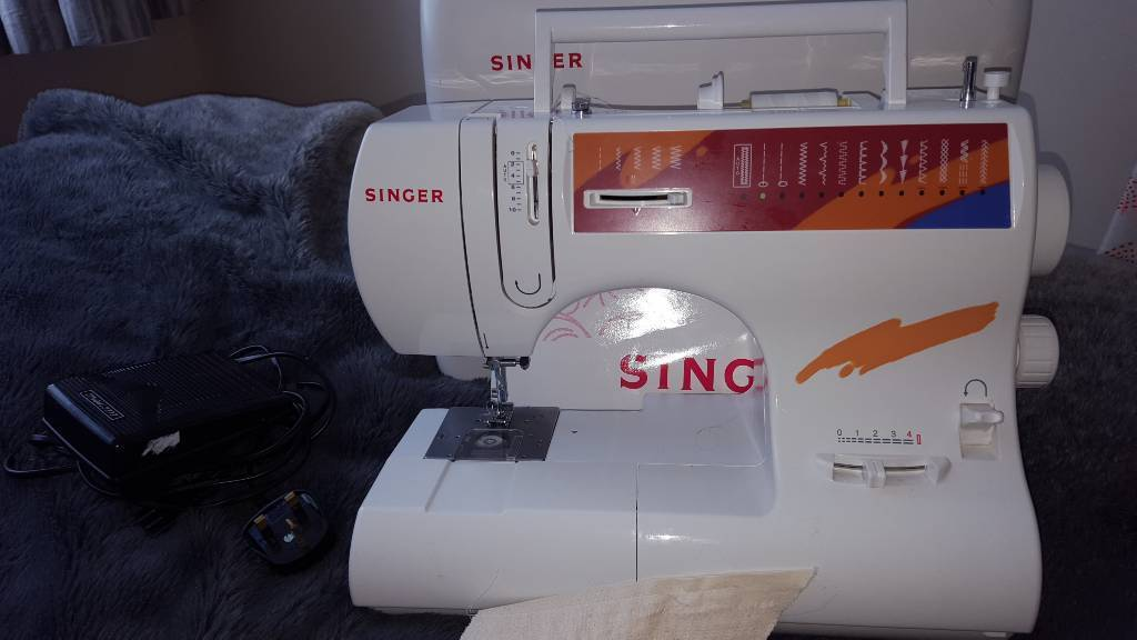Singer Sewing Machine Case Instructions In Bournemouth Dorset