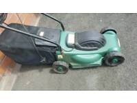 Lawn mower for sale electric with instructions very good working order
