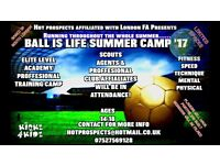 EXPERIENCED FOOTBALL COACH NEEDED FOR SUMMER CAMP//SOUTH LONDON