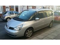 Renault Espace 1.9 Diesel 2006 MPV 7 Seater New Clutch Vito/Sharan/Galaxy style Car