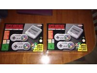 Nintendo mini snes, ready to pick up out of stock everywhere 2 available