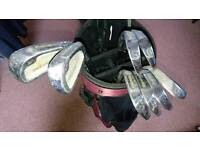 Set of Howson tour Master power series golf clubs