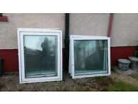 White pvc windows with locking keys suitable for a summer house , shedd,or garage i bought to many