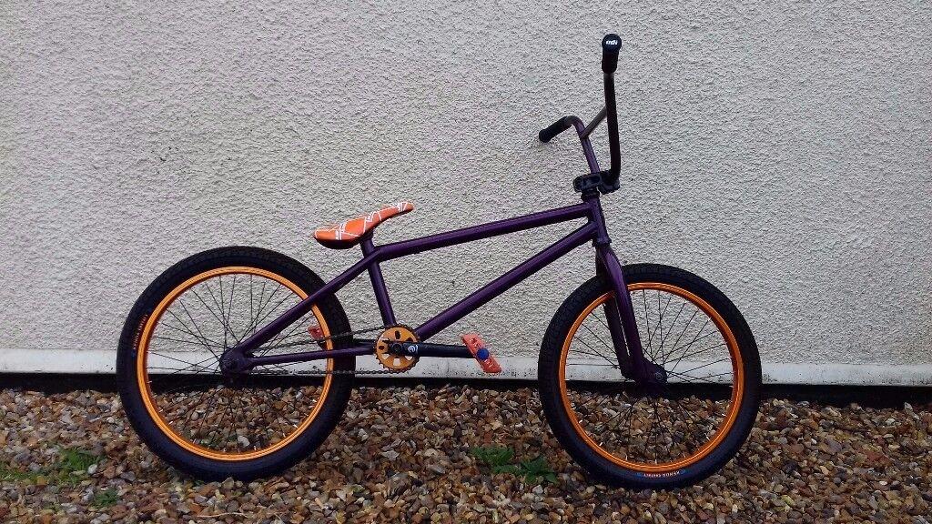 Custom built bmx