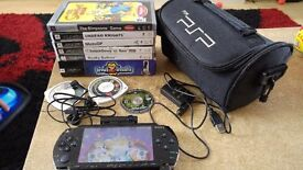 Sony PSP with Games and Accesories