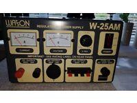 Watson W 25AM power supply