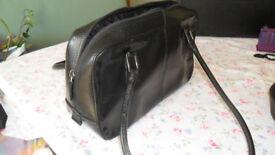 M & S ladies leather hand bag