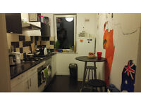 Nice single room in clean flat with friendly flatmates :)