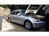 BMW 318 SILVER 2002