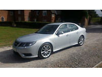2009 SAAB 9-3 AERO 1.9 TTID - 2 LADY OWNERS FROM NEW - SAT NAV - FULL SERVICE HISTORY -