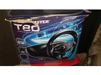 thrust master steering wheel ps3/4