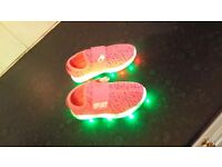 Brand new kid led shoes