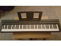Brand New Yamaha P45 Weighted Digital Piano, unwanted gift.