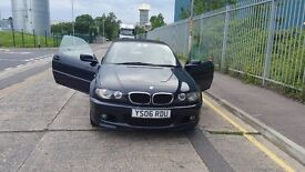 BMW 320cd convertible 2006 with hardtop