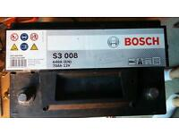 Bosch car battery