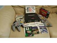 2x boxed and unboxed N64 bundle