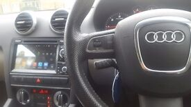 Audi Car Multimedia Player ( just like using a Samsung tablet) for Audi A3 2003 to 2013
