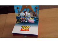 Toy Story - 2 Dvd 10th Anniversary Ltd Ed Pop up Rare Boxset Near Mint