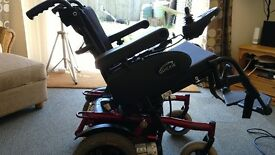 Quickie tango electric wheelchair powerchair with full tilt