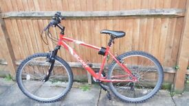 Slant bike in good condition with accessories