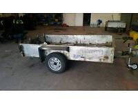 Steel trailer 8.5 x 4ft