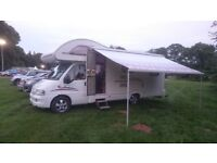 MOTORHOME FIAT DUCATO 2.8 JTD SWIFT LIFESTYLE 630L 6 BERTH WITH END LOUNGE CAMPERVAN