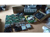 Joblot Xbox 360 Motherboards, Cables, Casing, Fans & Heatsinks