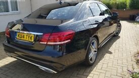 Mercedes E220 AMG fully loaded