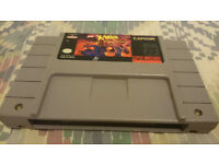 snes usa game cart x men mutant apocolyps