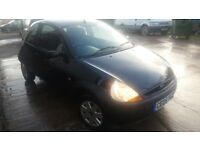 FORD KA 1.3 BLUE FULL 12 MONTHS NEW MOT CHEAP CAR IDEAL CHRISTMAS PRESENT LOW MILEAGE GREAT RUNABOUT