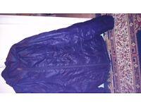 Purple xl puffa jacket