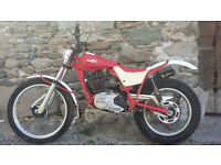 Italjet scott 350 trial bike 1984
