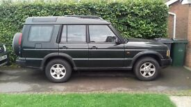 Landrover Discovery TD5 Persuit 7 Seats